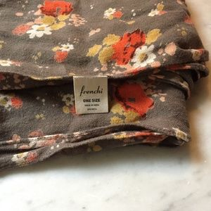 Frenchi Accessories - Floral California Poppy Scarf